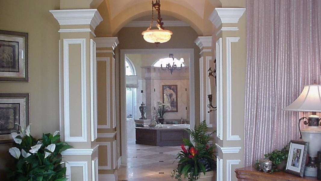 Molding and casing work, finish carpentry, remodeling, home renovations, design, Fort Myers, Naples, Florida